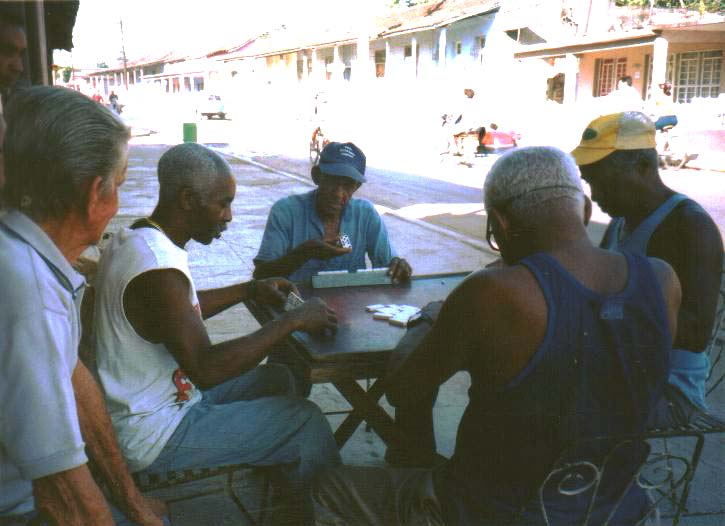 cuban domino players